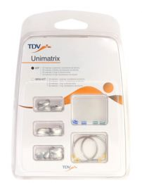 Matriz Unimatrix Kit c/ 50 Matrizes Sortidas e 02 Grampos - TDV