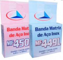 Banda Matriz de Aço 0,5 / 0,7 MM