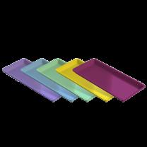 Bandeja Plástica Média med.  22 x 13 x 1,4 cm - Indusbello