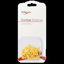 Cunhas Elásticas Amarela - 2,6 mm
