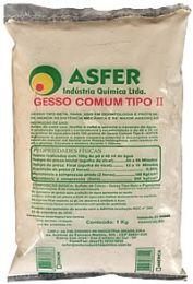 Gesso Comum Tipo II 1kg - Asfer