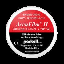 Papel Carbono AccuFilm II Vermelho/Preto - S017