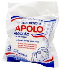 Algodão Rolete 100 Un - Apolo