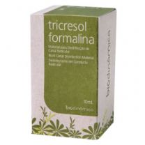 Desinfectante de Canal Tricresol Formalina 10ml - Biodinâmica